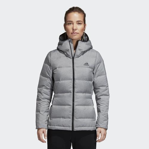 adidas Helionic Kadın Gri Ceket (CZ1385)