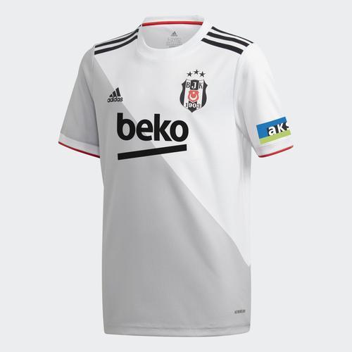 adidas Beşiktaş JK 20/21 Çocuk Beyaz İç Saha Forması (FR4092)