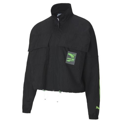 Puma Evide Track Woven Kadın Siyah Ceket (597770-01)