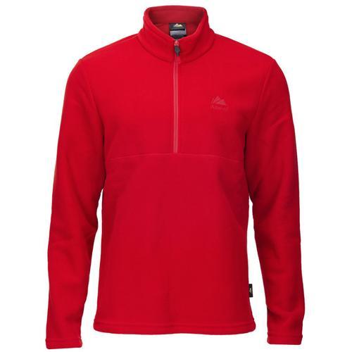 Alpinist Jimm Erkek Kırmızı Polar Sweatshirt (AL600402-KIR)