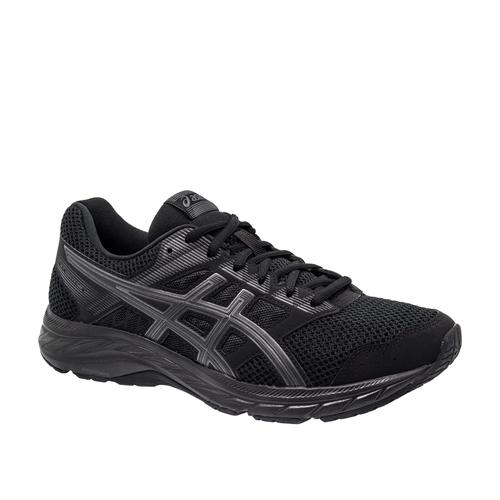 Asics Gel Contend 5 Erkek Siyah Koşu Ayakkabısı (1011A256-002)