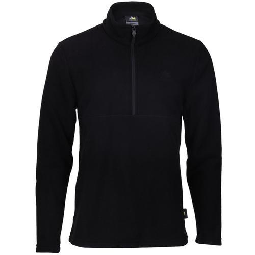 Alpinist Jimm Erkek Siyah Polar Sweatshirt (AL600402-SYH)