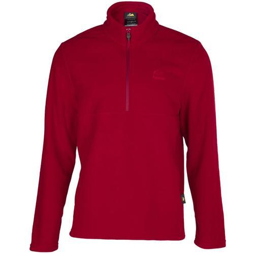 Alpinist Kentt Erkek Bordo Polar Sweatshirt (AL600401-BOR)