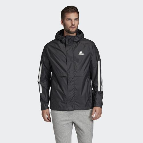adidas BSC 3-Stripes Erkek Siyah Rüzgarlık (FI0625)
