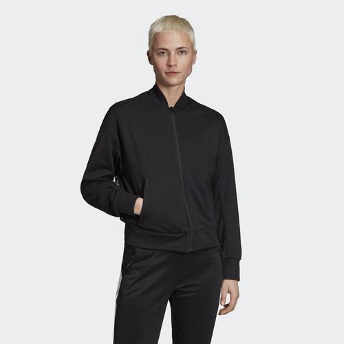 adidas ID Bomber Kadın Siyah Ceket (DZ8654)