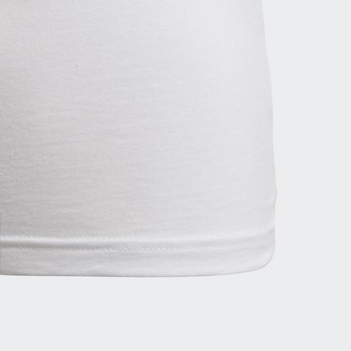 adidas Trefoil Çocuk Beyaz Tişört (DV2857)