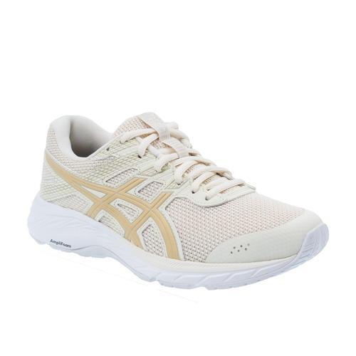 Asics Gel Contend 6 Twist Kadın Krem Koşu Ayakkabısı (1012A671-200)