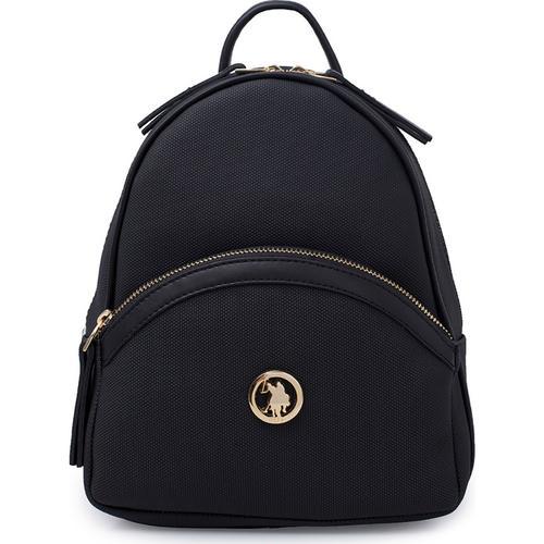 U.S. Polo Assn. Kadın Siyah Sırt Çantası (US20300-00495)