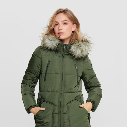 Only Rhoda Kadın Yeşil Mont (15182370-FN)