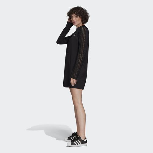 adidas Lace Kadın Siyah Elbise (FM1758)