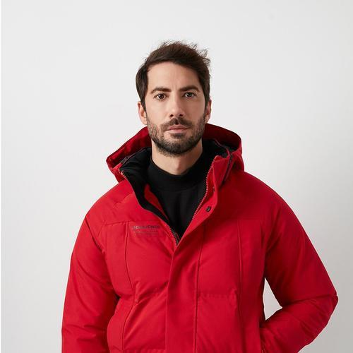 Jack & Jones Albert Tech Erkek Kırmızı Mont (12175481-TR)