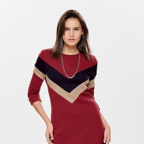 Only Dakota Kadın Kırmızı Tunik Elbise (15188798-MT)