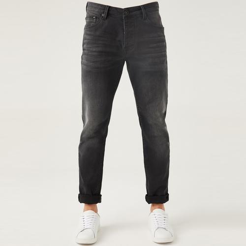Five Pocket Erkek Gri Jean Pantolon (7287-U869)
