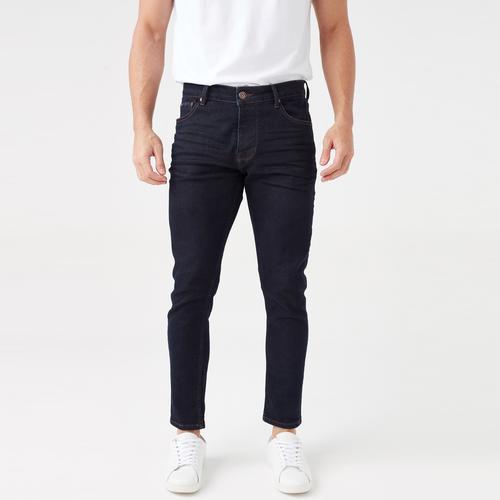 Five Pocket Erkek Lacivert Jean Pantolon (7302-S975)