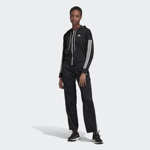 adidas Game Time Aeroready Kadın Siyah Eşofman Takımı (FS6179)