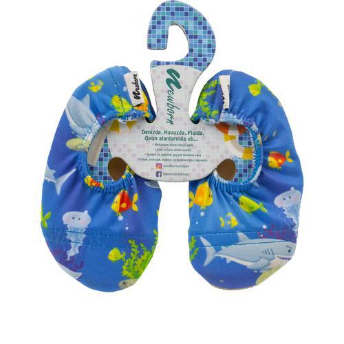 Newborn Aqua Çocuk Mavi Deniz Ayakkabısı (NAQ4010-AM)
