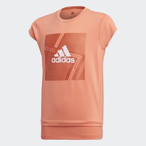 adidas Branded Çocuk Turuncu Tişört (FM5836)