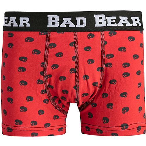 Bad Bear Skull Erkek Kırmızı Boxer (18.01.03.012.MN)