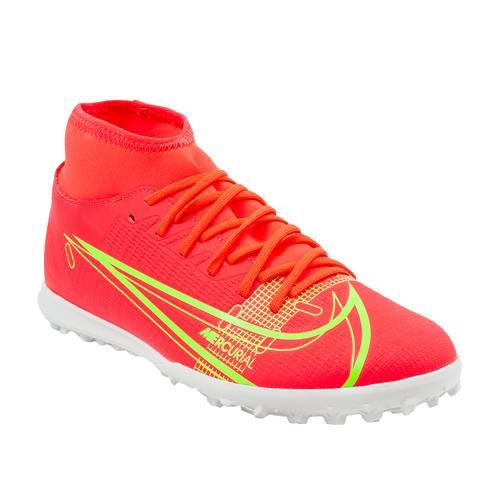 Nike Mercurial Superfly 8 Club Erkek Kırmızı Halı Saha Ayakkabısı (CV0955-600)