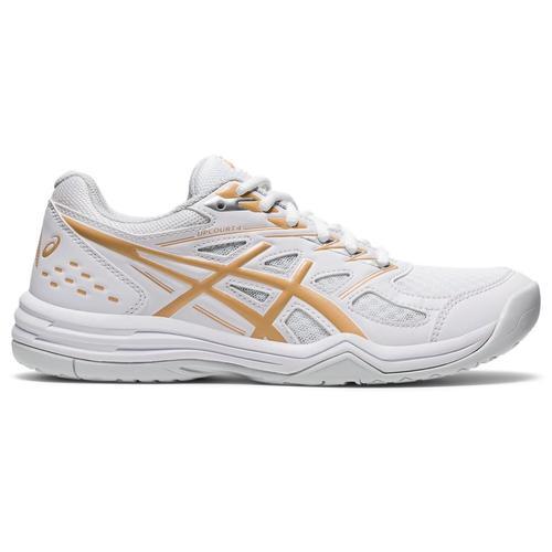 Asics Upcourt 4 Kadın Beyaz Voleybol Ayakkabısı (1072A055-103)