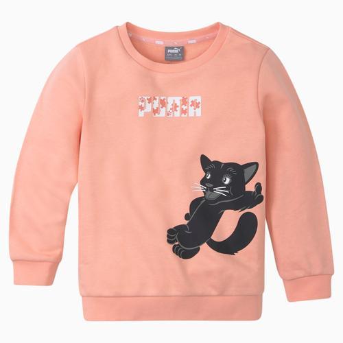 Puma Paw Çocuk Pembe Sweatshirt (586222-26)