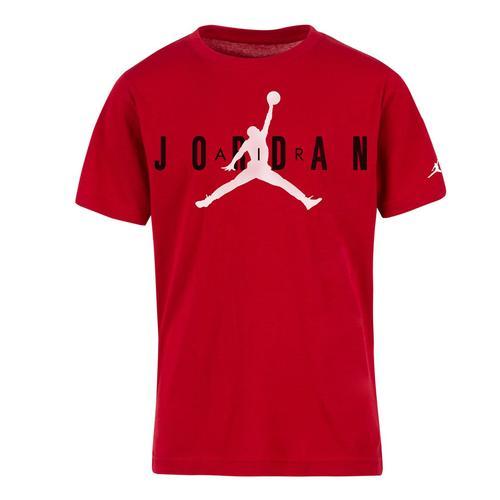 Nike Jordan Brand Tee 5 Çocuk Kırmızı Tişört (955175-R78)