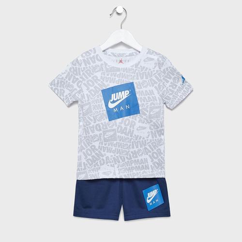 Nike Jordan Aop Çocuk Beyaz Takım (85A358-U9J)