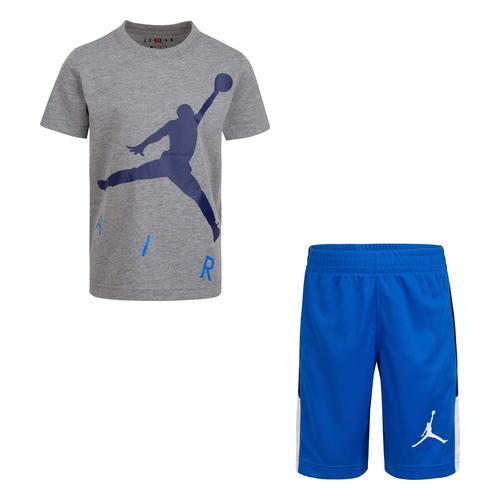 Nike Jordan Big Air Çocuk Mavi Takım (85A390-U9H)