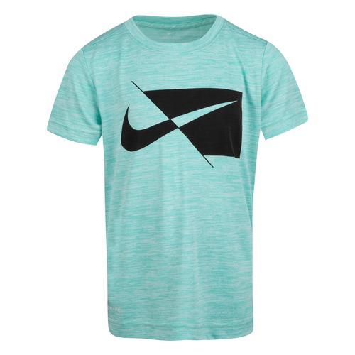 Nike Dry Ss Top Çocuk Mavi Tişört (86H475-F1R)
