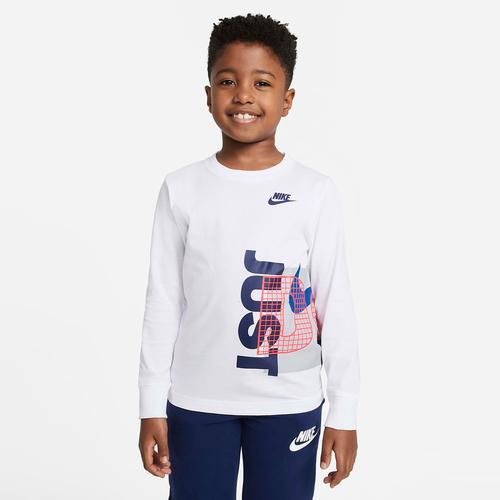 Nike Exploded Jdi Tee Çocuk Beyaz Sweatshirt (86H408-001)