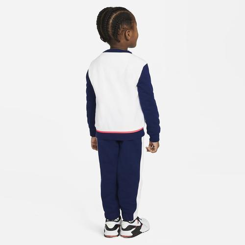 Nike Color Block Flc Çocuk Mavi Takım (76H470-U9J)