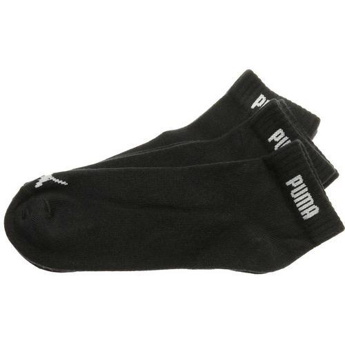 Puma Quarter V Siyah 3'lü Spor Çorap (887498-01)