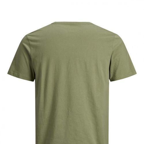 Jack & Jones Raz Erkek Yeşil Tişört (12188052-OGN)