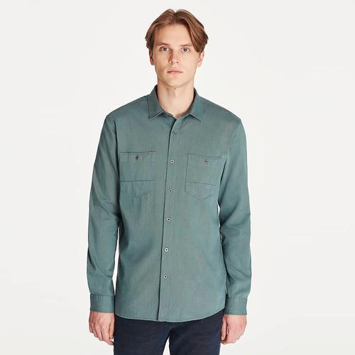 Mavi Erkek Yeşil Gömlek (021415-30708)
