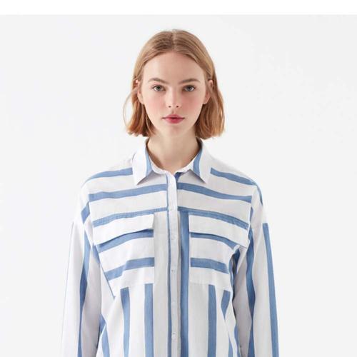 Mavi Kadın Beyaz Gömlek (122132-23097)