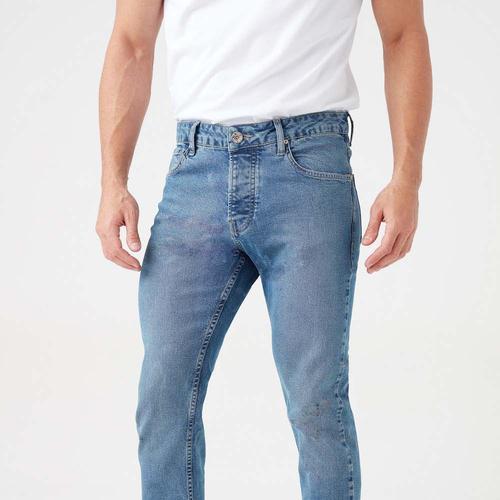 Five Pocket Bartez Erkek Mavi Jean Pantolon (7290-T131)