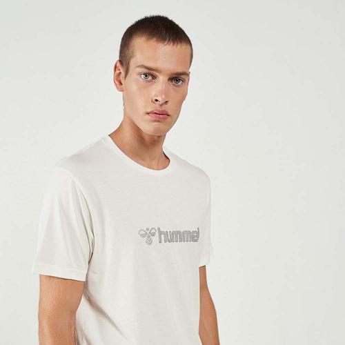 Hummel Naples Erkek Beyaz Tişört (911335-9003)
