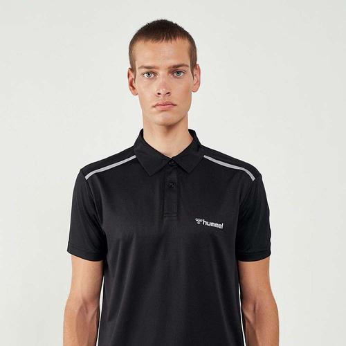Hummel Leros Erkek Siyah Polo Tişört (911281-2001)