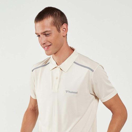 Hummel Leros Erkek Beyaz Polo Tişört (911281-9024)