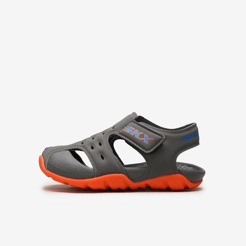 Skechers Side Wave Bebek Gri Sandalet (92330N-CCOR)