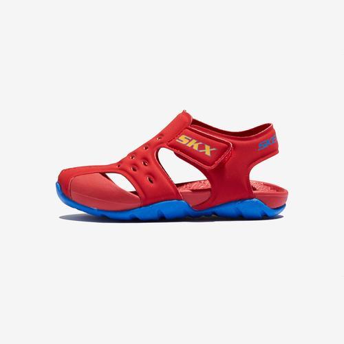 Skechers Side Wave Çocuk Kırmızı Sandalet (92330N-RDBL)