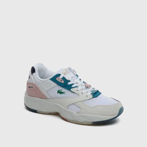 Lacoste Storm 96 Kadın Beyaz Spor Ayakkabı (741SFA0017.1Y9)