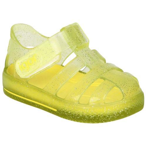 Igor Star Glitter Çocuk Sarı Sandalet (S10265-IGR210)