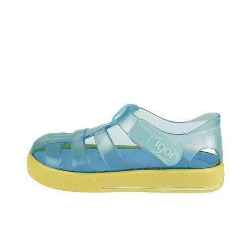 Igor Star Bicolor Bebek Mavi Sandalet (S10270-IG091)