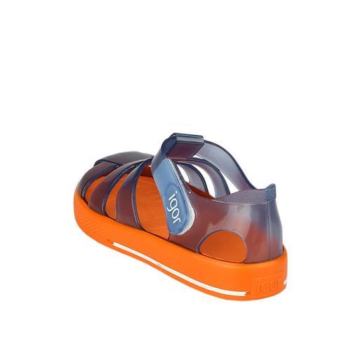 Igor Star Bicolor Çocuk Mavi Sandalet (S10270-IG092)