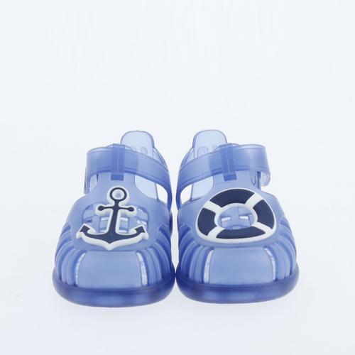 Igor Tobby Velcro Nautico Çocuk Mavi Sandalet (S10249-063)