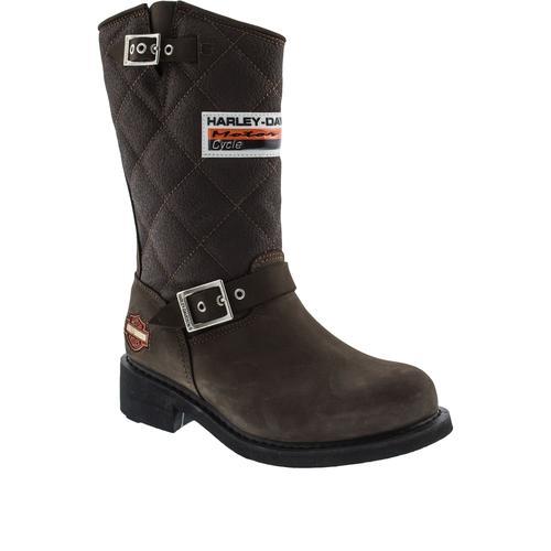 Harley Davidson Laconia Kadın Kahverengi Çizme (025G100071-B2327)