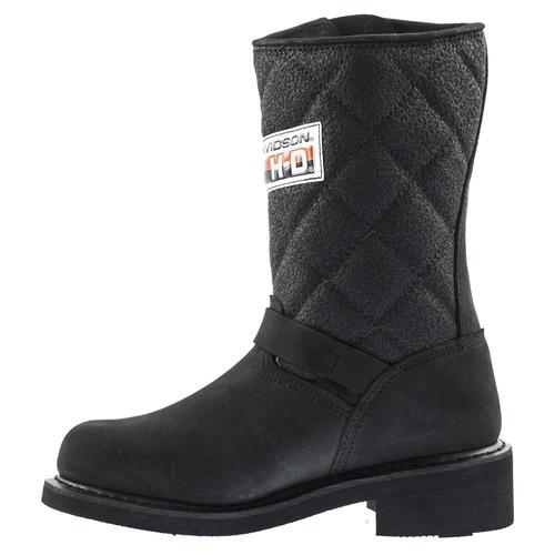 Harley Davidson Laconia Kadın Siyah Çizme (025G100071-B1427)