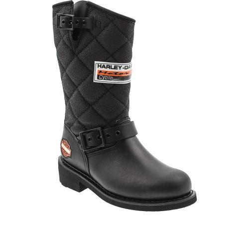Harley Davidson Laconia Siyah Çizme