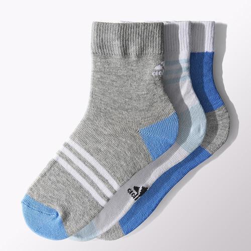 adidas LK Ankle 3'lü Çocuk Spor Çorap (S15663)